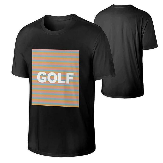26402b88bfe0 Amazon.com  CuiMr.ZEi Mens Golf Wang Tyler The Creator Rap Tee Shirt ...