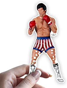 Grantedesigns Rocky Balboa Sticker Decal for Laptop or Any Flat Surface