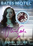 Bates Motel Autograph Costume Relic BC7 Olivia Cooke as Emma Decody