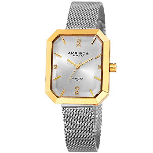 Ladies Polished Stainless Steel Case - 1