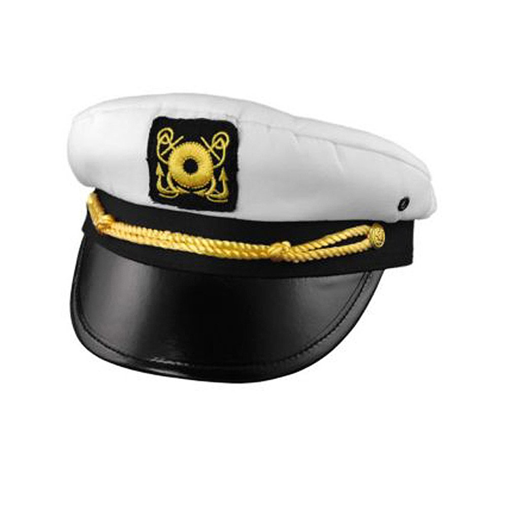 11618 Yachting Cap Captain's Hat Mr Howell Hat
