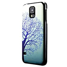 Galaxy S5 Case, Cruzerlite Print Cases (PC Case) Compatible with Samsung Galaxy S5 - Blue Tree
