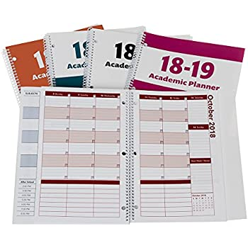 amazon com 2018 2019 academic planner a tool for time management