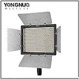 Yongnuo YN-600 II Videolicht Videoleuchte Kameralicht Flächenleuchte mit 600 LEDs 4680 Lux (zwischen 3200K-5500K verstellbar) + Netzteil + 2 Akkus + Ladegerät