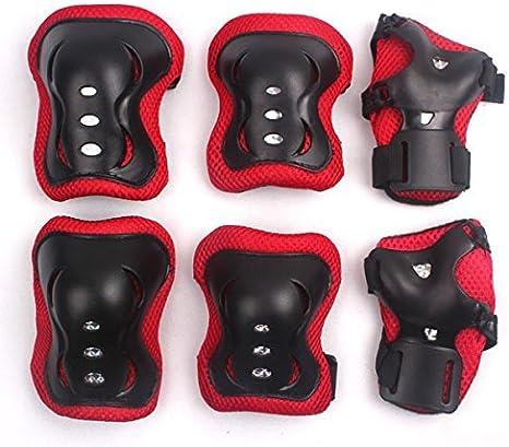 Lot 7x Child Roller Skating Bike Helmet Knee Wrist Guard Elbow Pad Set Practical
