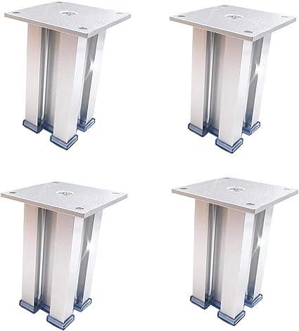 Gambe Per Tavoli In Alluminio.Afdk Piedini Per Mobili In Alluminio Spesso Piedi X4 Piedi Per