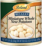 Roland Miniature Whole New Potatoes, 2.5kg (Pack of 2)