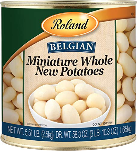 Roland Miniature Whole New Potatoes, 2.5kg (Pack of 2) by Roland