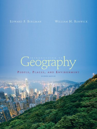 Books a la Carte for Introduction to Geography: People, Places and Environment (4th Edition)