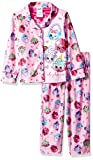 Shopkins Big Girls' 2-Piece Pajama Coat Set, Party Pink, 8