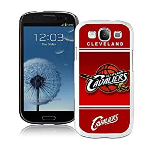 New Custom Design Cover Case For Samsung Galaxy S3 I9300 Cleveland Cavaliers 10 White Phone Case