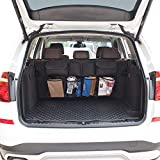 Car Organizer,7 Pocket Auto Trunk Organize,Backseat Trunk Organizer,Waterproof,Dust-proof,Durable Foldable Cargo Net Storage for More Trunk Space.fit for Truck, SUV, Van, Cargo with Adjustable Straps