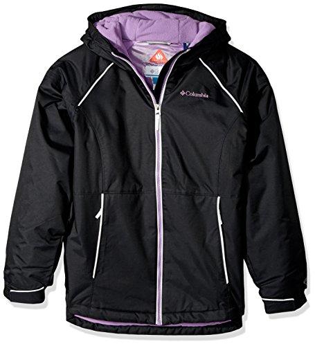 Columbia Girls Alpine Action ii Jacket, Black, Small