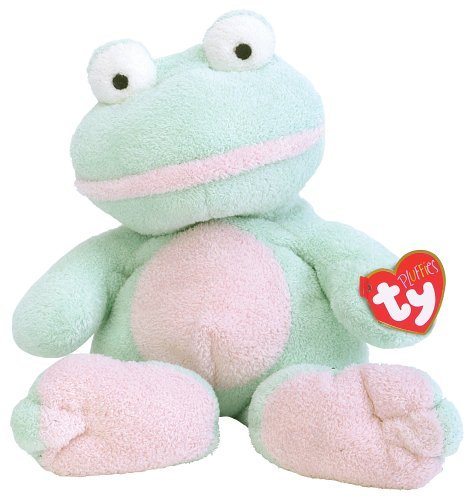 Ty Grins the frog by TY~BABY RANGE INCLUDING PLUFFIES