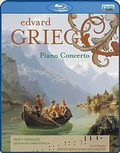 Percy Grainger/Kristiansand Symfoniorkester: Grieg - Piano Concerto [Blu-ray Audio]