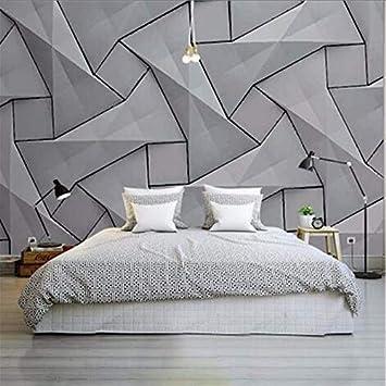 Cczxfcc Moderne 4D Tapeten Für Wände Zement Seidentuch Wandbilder ...