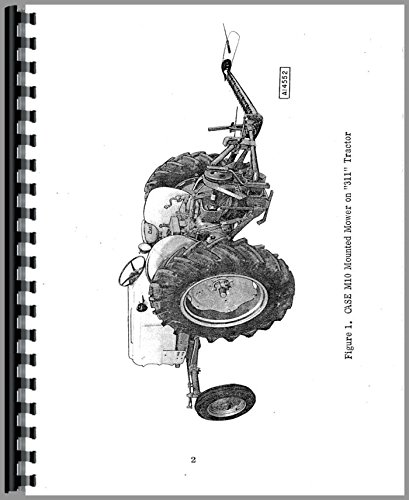 Read Online Case M10 Sickle Bar Mower Operators Manual pdf epub