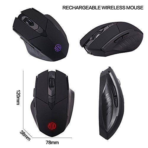 51YuoHEx%2BzL - Rechargeable-Wireless-Mouseinphic-Mute-Silent-Click-Mini-Noiseless-Optical-MiceUltra-Thin-1600-DPI-for-NotebookPCLaptopComputerMacbook