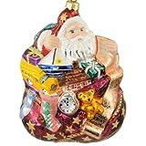 Christopher Radko Walt Disney World 1st Ever Christmas Collectibles 1997 Enough for All Santa Ornament LTD 500 MWT MIB Signed