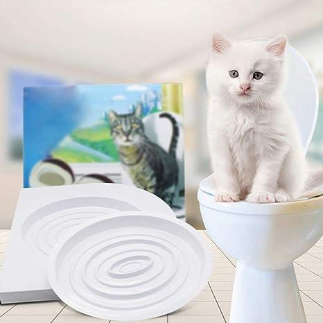 Handfly Sistema de Entrenamiento para inodoros Cat Kitty Kit de ...