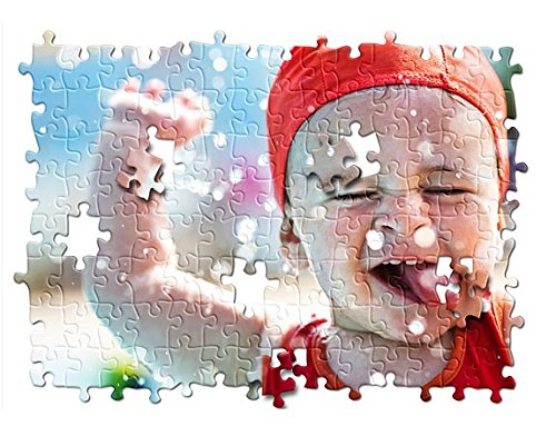 20 Sets Blank Sublimation A4 Jigsaw Puzzle with 120 Pieces DIY Heat Press Transfer Crafts by SFS BLANK