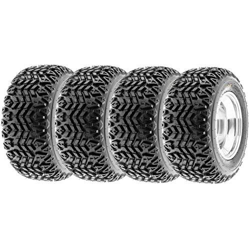 SunF All Trail ATV Tires 22x11-10 & 22x11x10 4 PR G003 (Full set of 4) by SunF