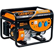 Genfor GF3500CE, 3,500-watt Gasoline Powered Portable Generator with Electric Starter