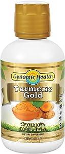 Dynamic Health Turmeric Gold Supplement, 32 Ounce