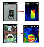 HANYF Infrared Thermal Imager, (220 160 Resolution) Thermal Imager Temperature Display, for Medical/Fire Fighting/Transportation/Agriculture/Geology/Energy
