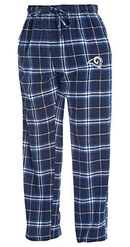 Concepts Sport Los Angeles Rams NFL Huddle Men's Flannel Pajama - Ram Concept