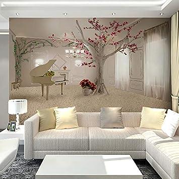 Amazhen Benutzerdefinierte 3D Wandbilder Tapete Für Wohnzimmer Mode ...