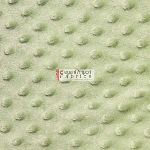 Minky MINKEE Chenille DOT Soft Fabric Cuddle 42 Color 60