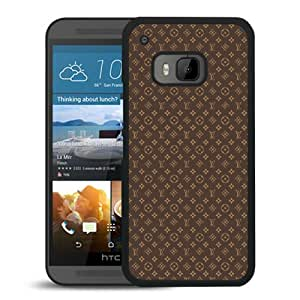 HTC ONE M9 Case,Louis Vuitton 04 Black HTC ONE M9 Screen Cover Case Genuine and Fashion Design
