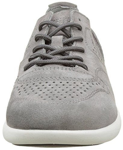 Geox Men's U Brattley a Fashion Sneaker, Navy Anthracite