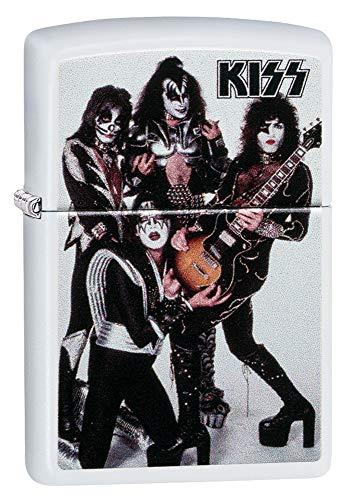 Zippo Kiss Pocket Lighter (Rock Band Merchandise)