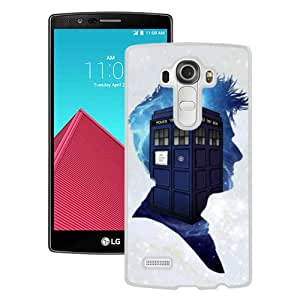 Newest And Fashionable LG G4 Case Designed With Dr Who White LG G4 Screen Cover High Quality Cover Case