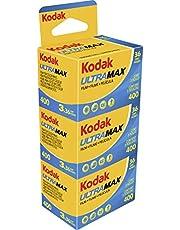 Kodak KOD103202 Negatieve film, 35 mm, ultra max gc 400-36, driepak, meerkleurig