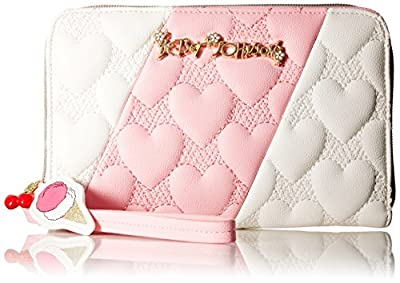 Betsey Johnson Split Decision Wallet Wallet by Betsey Johnson