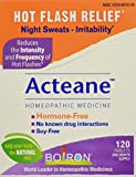 Image of Boiron Acteane, 120 Tablets, Homeopathic Medicine for Hot Flash Relief