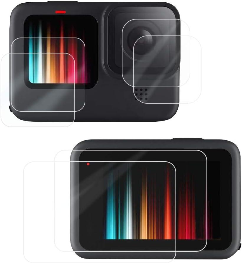 Protector de pantalla y  lente para GoPro Hero 9 Black