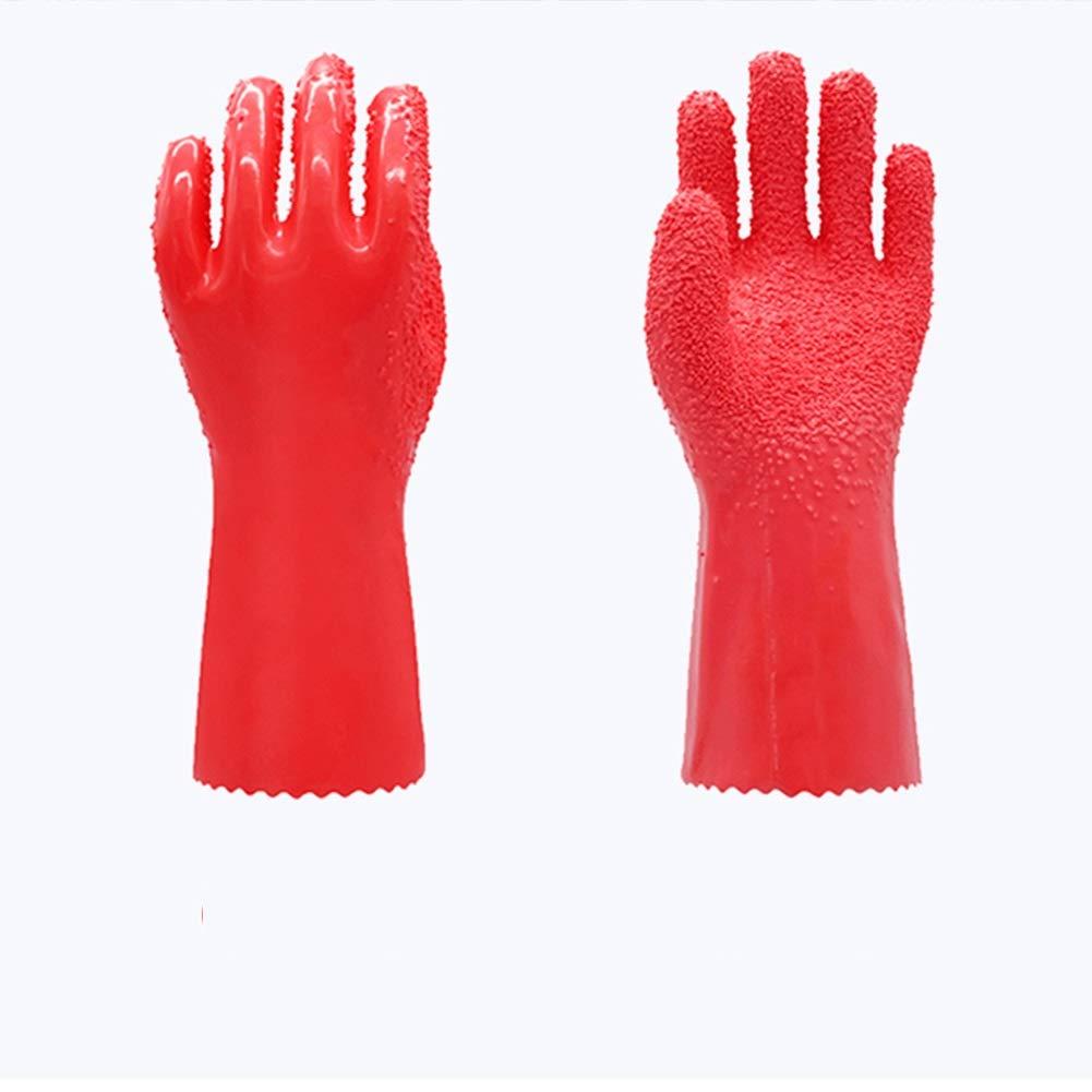 Chufanggongju Handschuhe Mehrzwecksch/älen und T/öten von Fischen nach Ma/ß Hausarbeit K/üche mit Kartoffel-Yam-Taro-Peeling Anti-Rutsch-haltbar