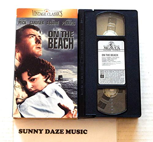 On The Beach -MGM UA Home Video 1996 – A Used Play-Screened VHS Feature Film Graded 9.5 By The Seller Very Rare – 1959 Movie Starring Gregory Peck – Ava Gardner – Fred Astaire – Anthony Perkins – Director Stanley Kramer