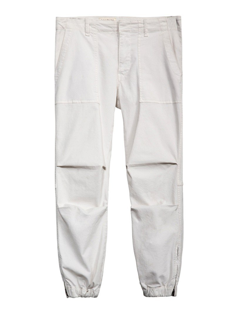 Nili Lotan Women's Ivory French Military Pants 8
