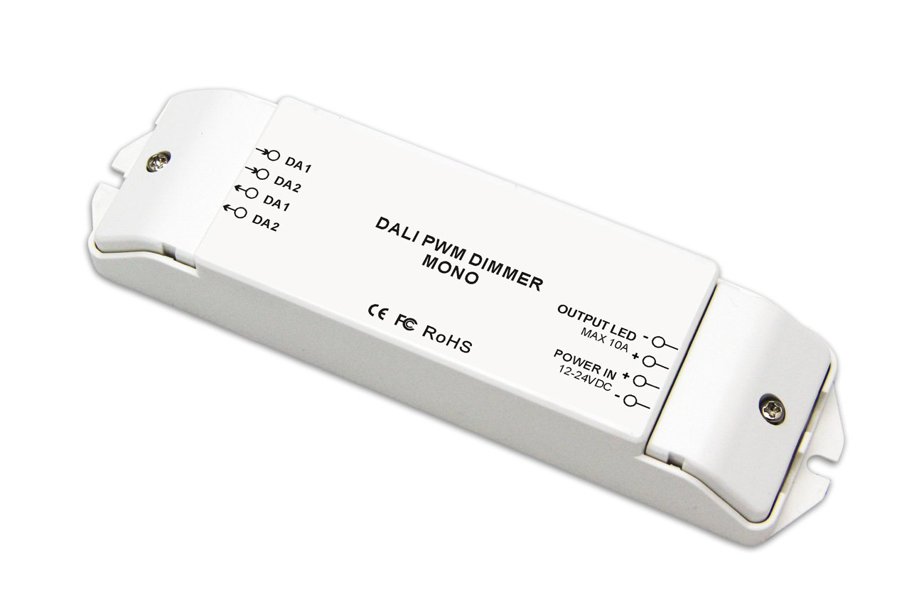 Constant Voltage 1CH DALI PWM Dimming Driver 10A/CH x 1 LED Dimmer DC12V-24V