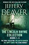 Front cover for the book The Bone Collector by Jeffery Deaver