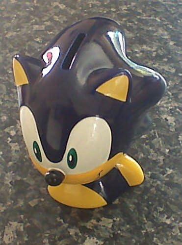 SONIC THE HEDGEHOG (Sega)- caja de dinero de cerámica: Amazon.es: Hogar