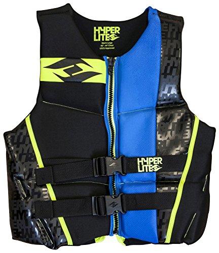 2014 Hyperlite Indy Wakeboard Vest - Blue 3X