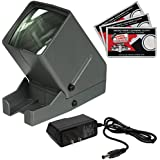Zuma SV-3 LED 35mm Film Slide Negative Viewer AC Adapter + Cleaning Cloths