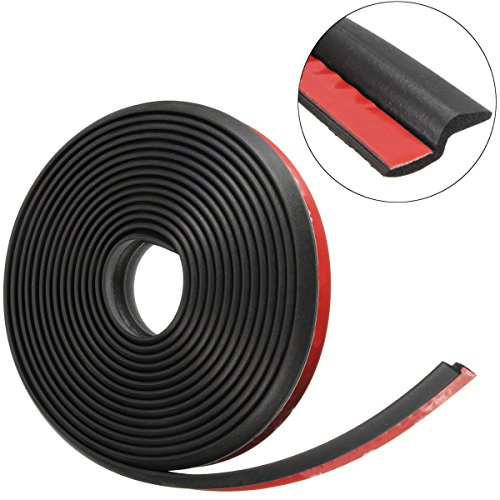 NEW - Car Door Rubber Seal Decorate Weather Strip Hollow (157 Inches)Door Of Car Truck Suv - (Z Type) Chevy Monte Carlo Weatherstrip