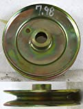MTD Cub Cadet 5'' Spindle / Deck Pulley Spinlined Shaft MTD 756-0519 756-0355